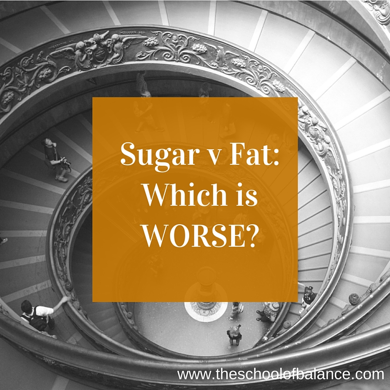 Sugar v Fat Blog