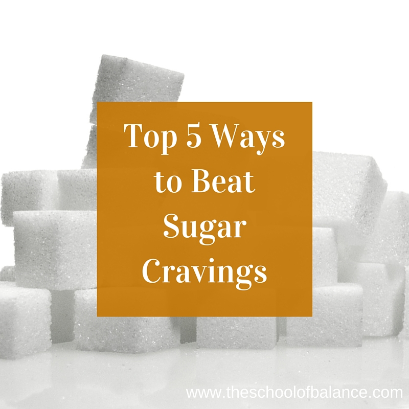 Top 5 ways to beat sugar cravings