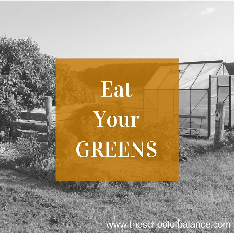 Eat your greens blog
