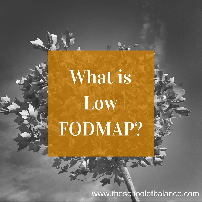 What is low fodmap_