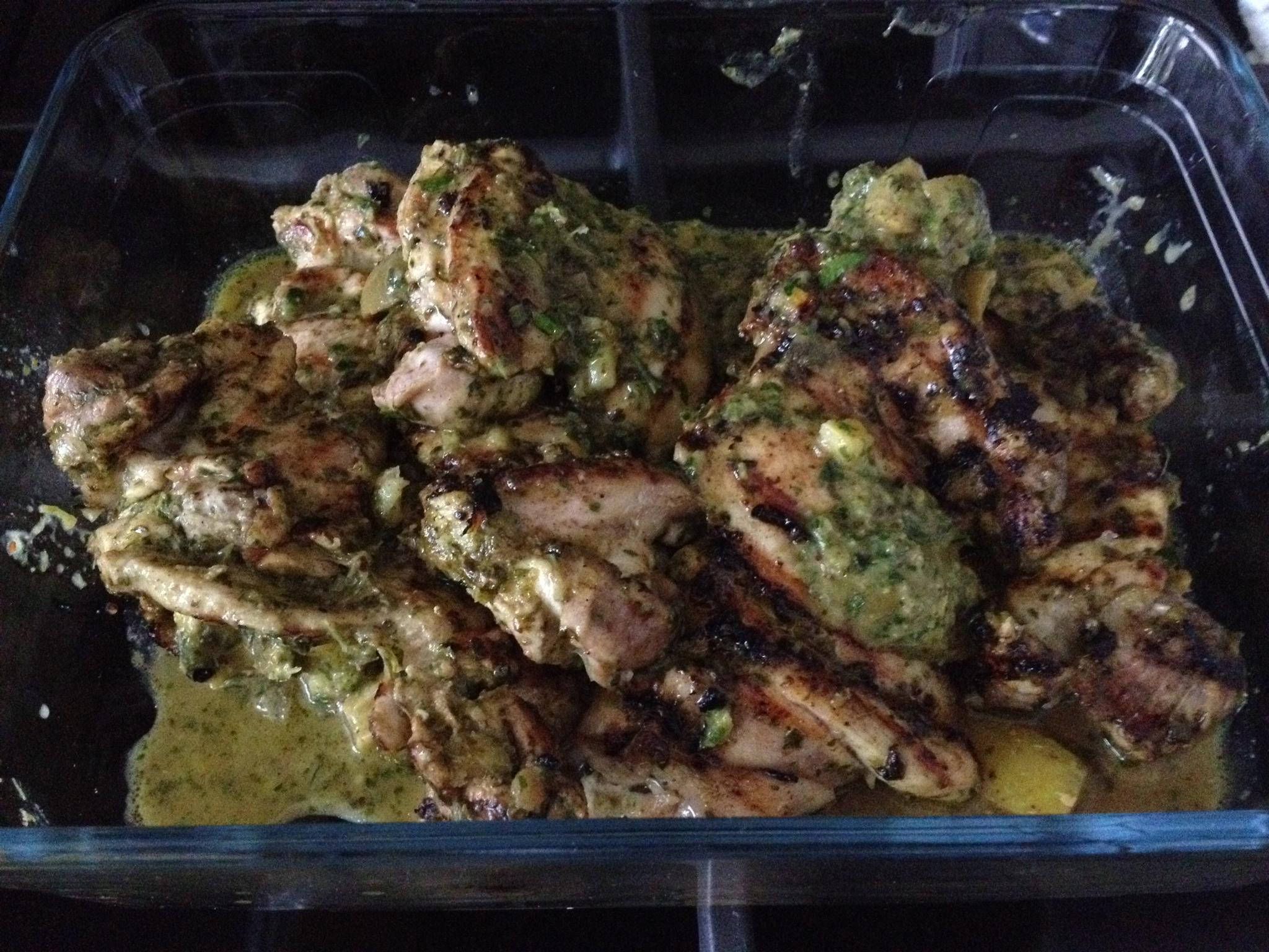 Moroccan BBQ Chicken