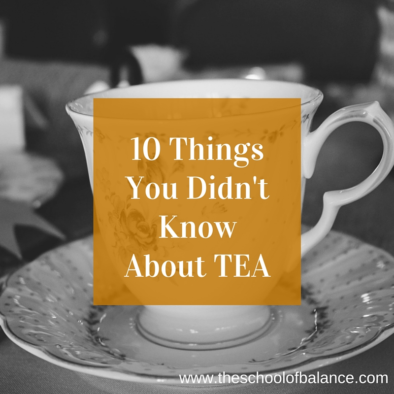 10 Things about Tea blog