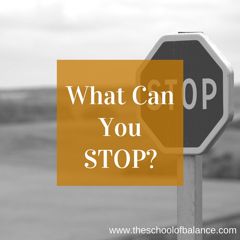what can you stop blog