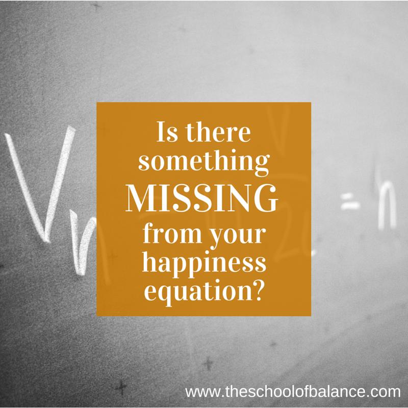 Happiness equation blog